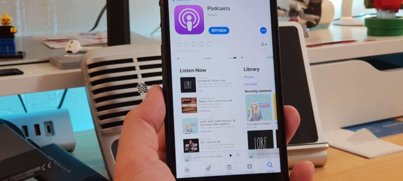 Apple Podcasts Podcatcher
