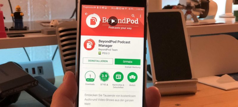 BeyondPod Podcatcher