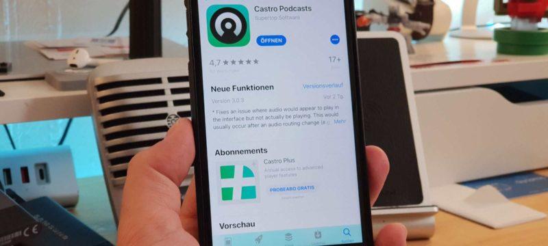 Castro Podcast Podcatcher