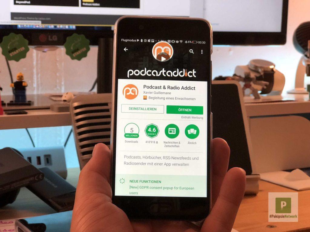 Podcast Addict Podcatcher
