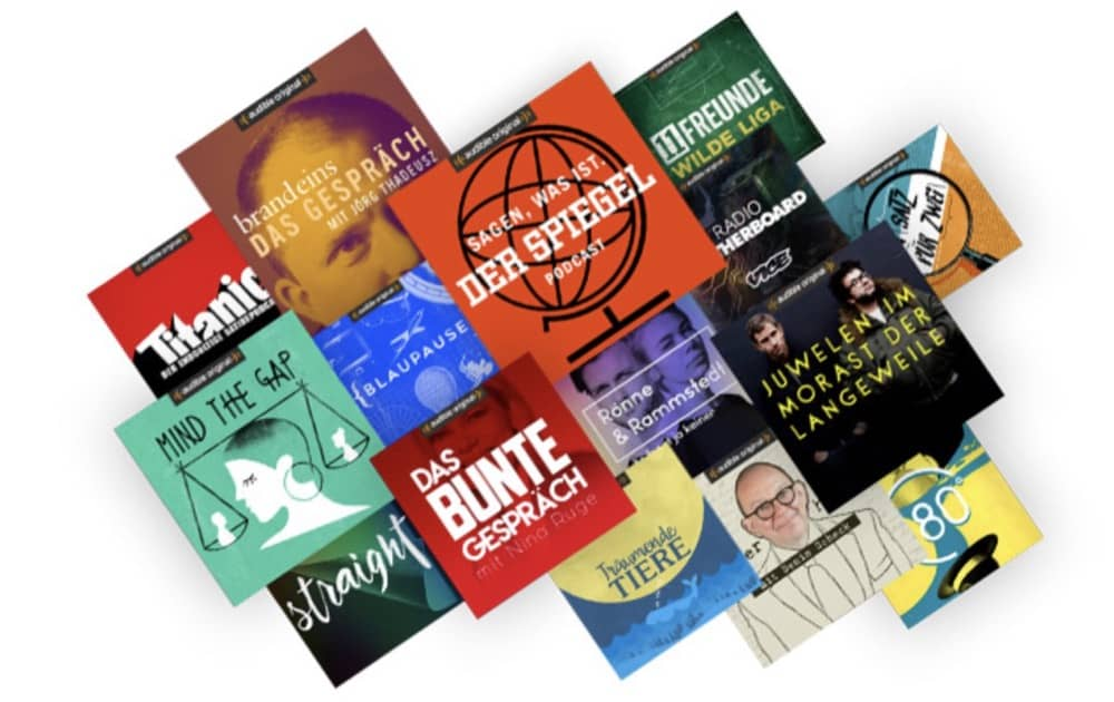 Podcasts für alle – von Streaming-Services und Hörbuch-Verkäufern