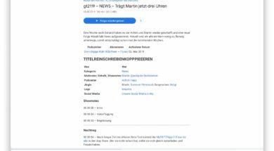 Google integriert die Podcast Wiedergabe direkt in die Suche – 2