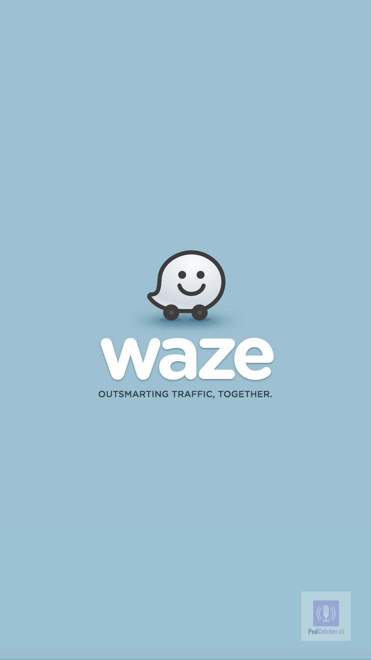 Mit Castbox und Waze im Auto Podcasts anhören