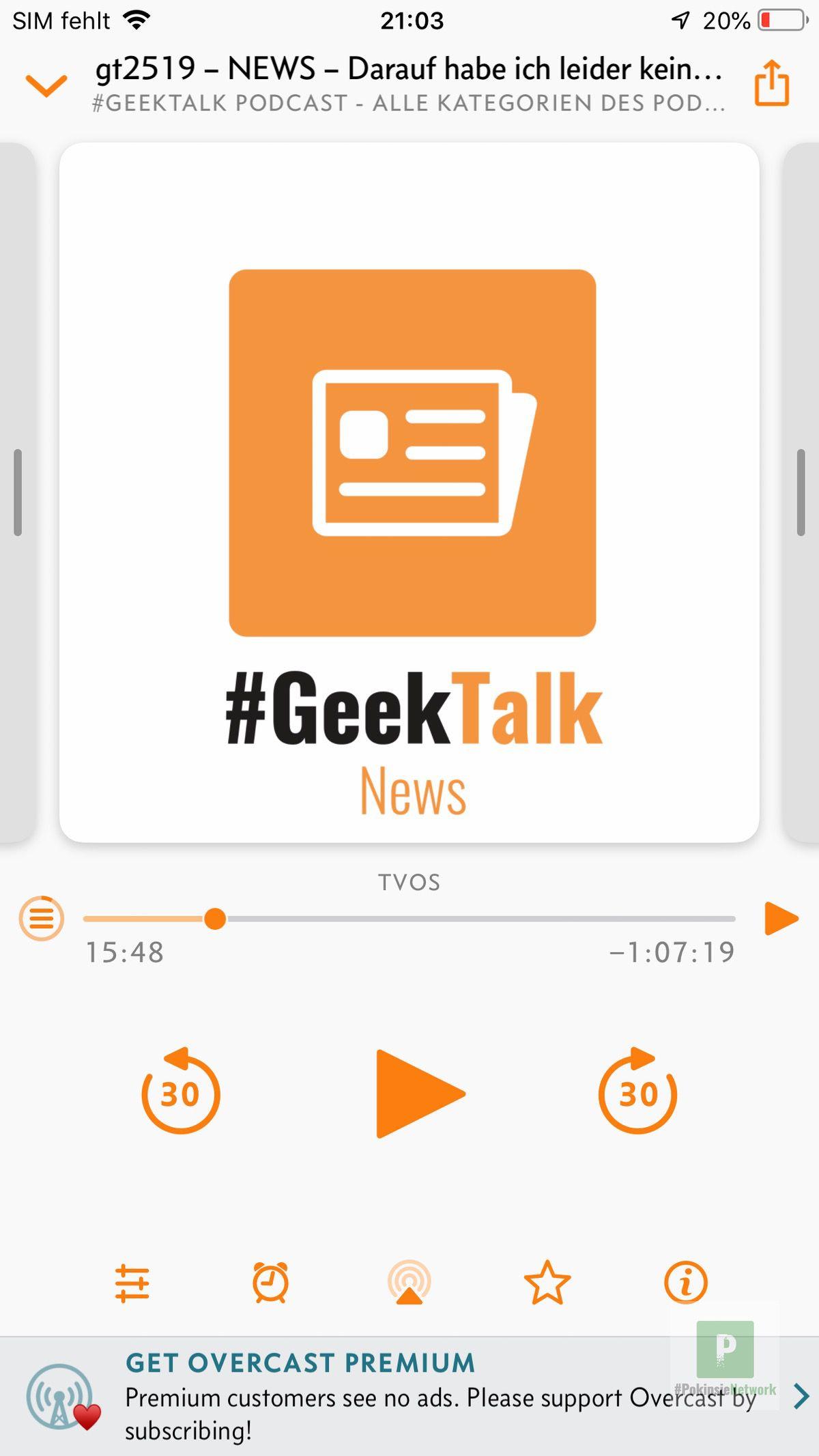 Podcast Ausschnitte teilen