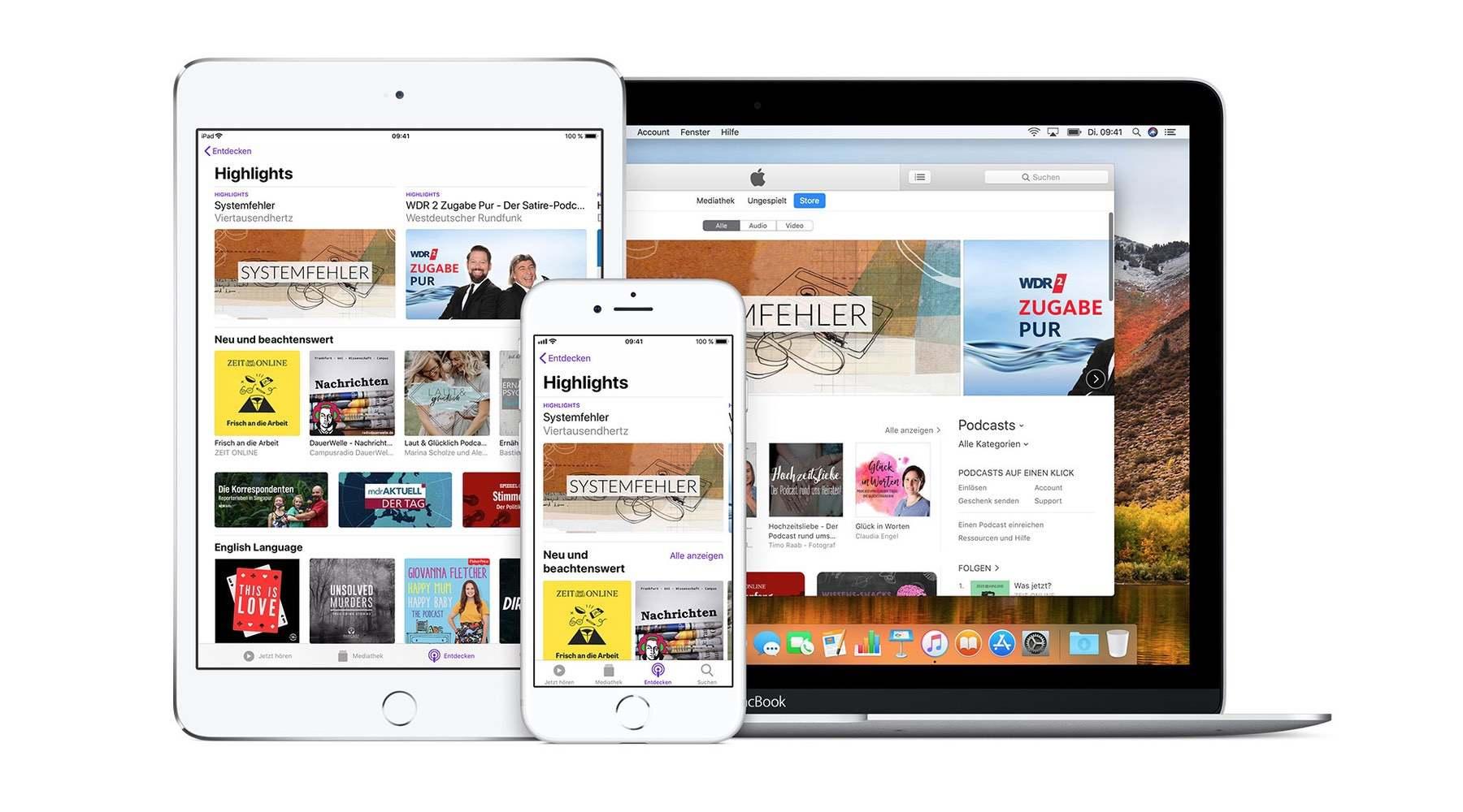 Apple Podcast Categories: Update für mehr Struktur freigeschaltet