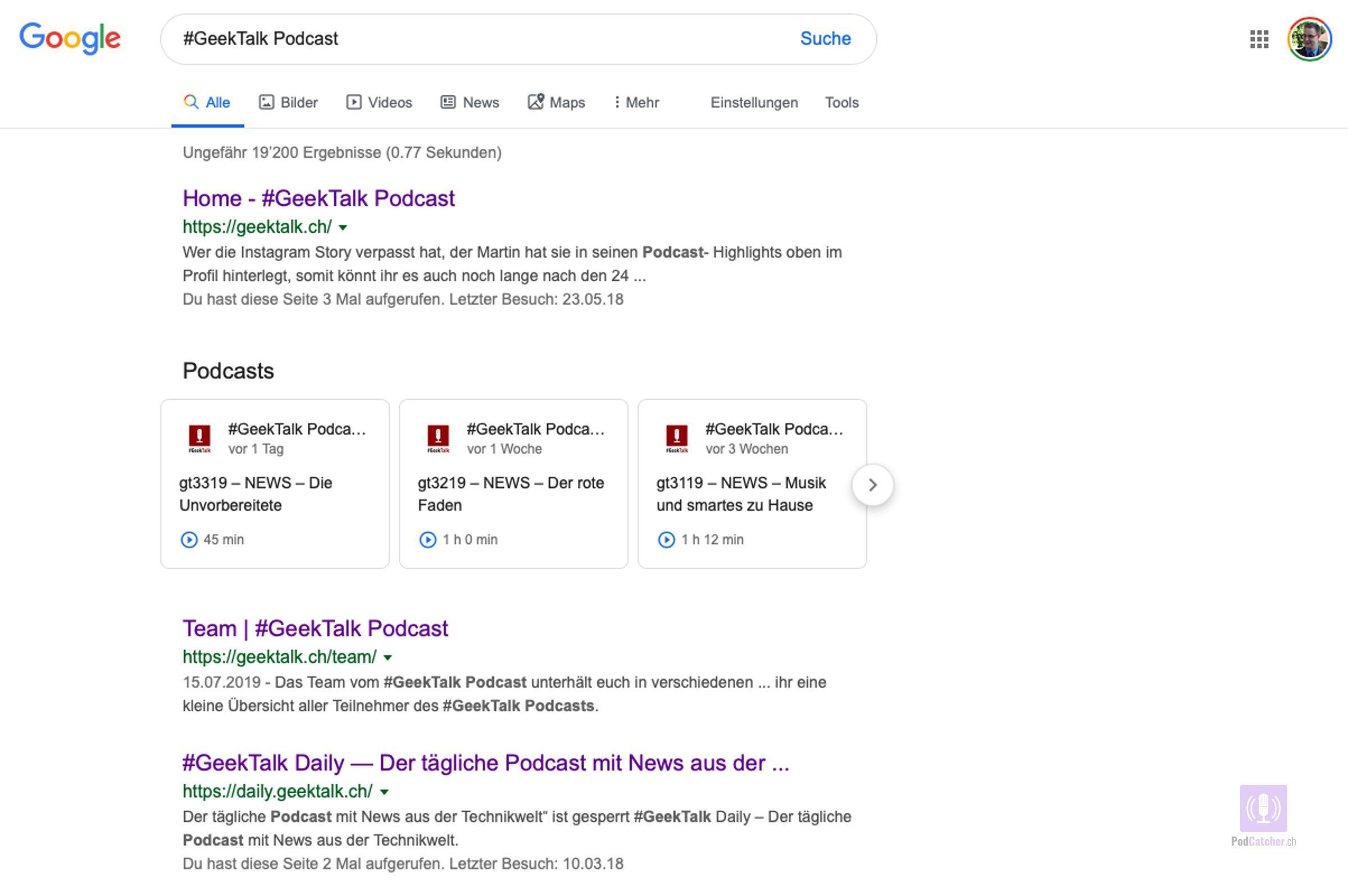 Suchergebnis für #GeekTalk Podacst