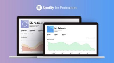Spotify für Podcaster Titel