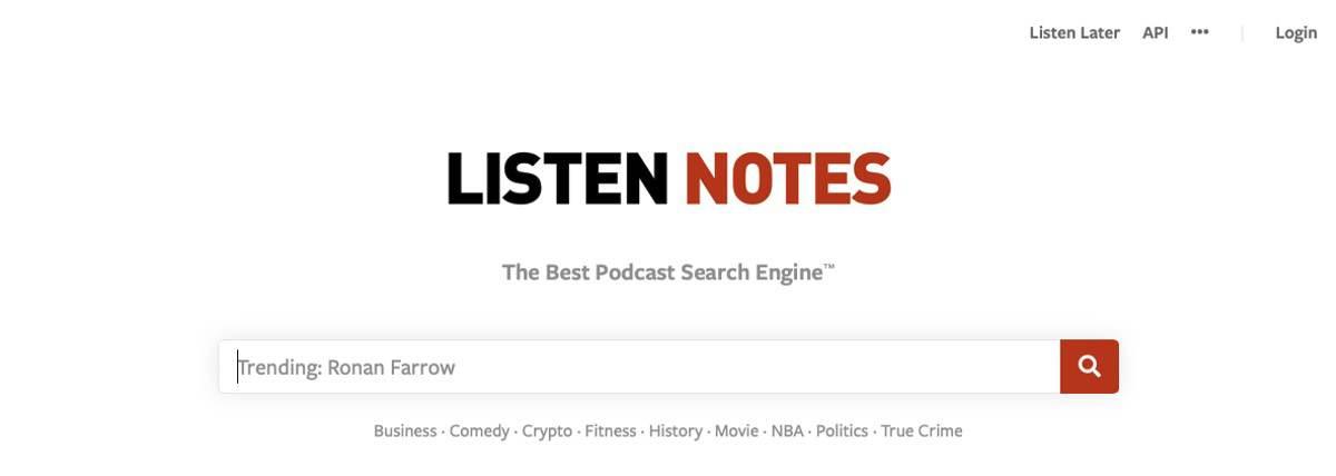 Podcastrecherche mit Listennotes – Gefangen im Dschungel der Vielfalt