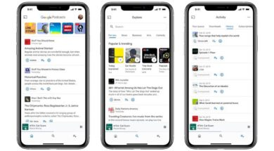Google Podcasts für iOS
