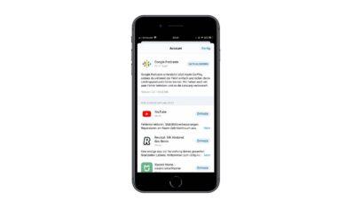 Google Podcasts auf Apple CarPlay erhaeltlich