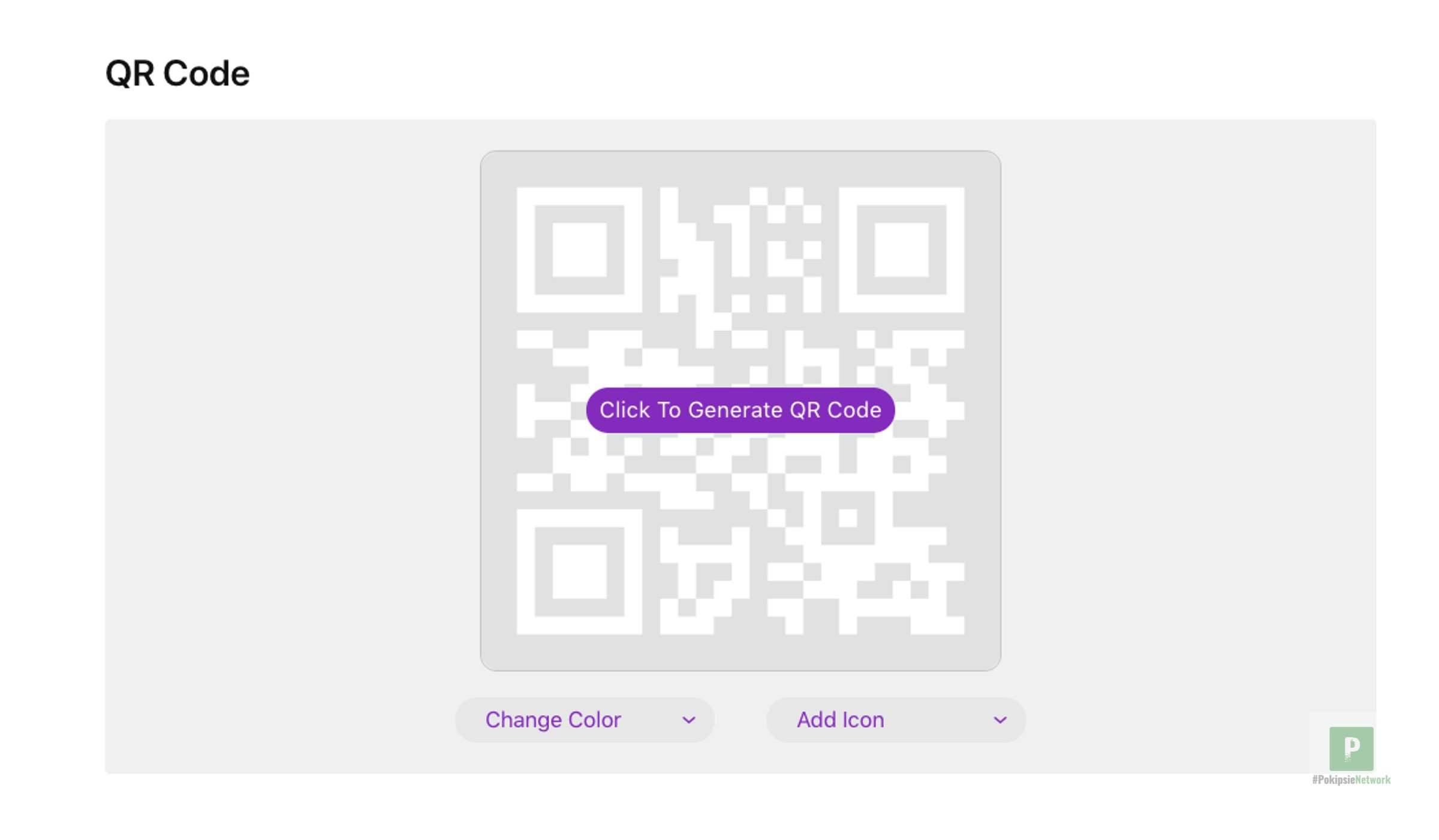 QR Code generieren