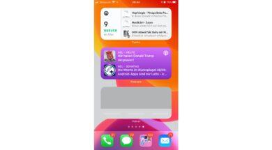 iOS 14 Widgets für Podcatcher