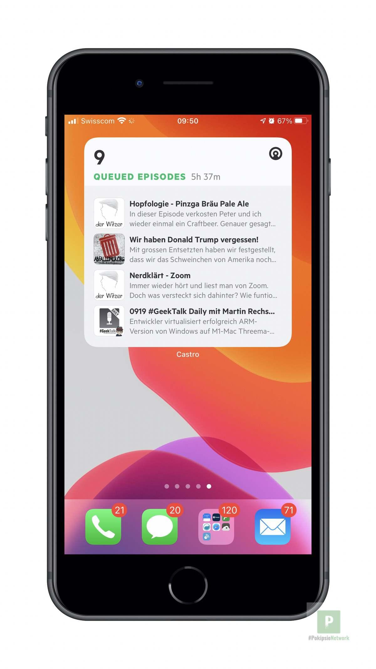 Castro - iOS Widget Goss