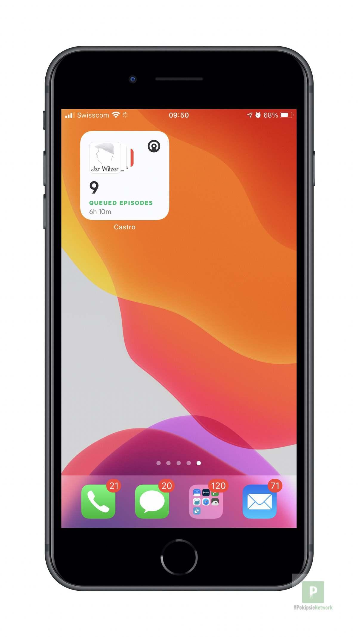 Castro - iOS Widget Klein