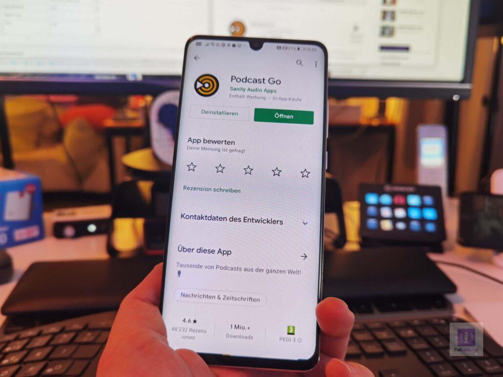 Podcast Go - Headerbild