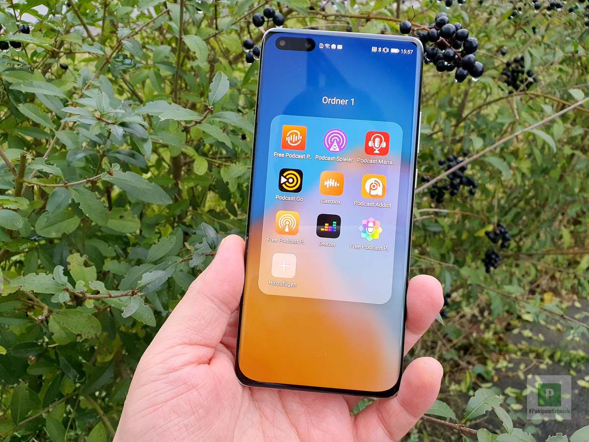 Podcatcher für Huawei Smartphones