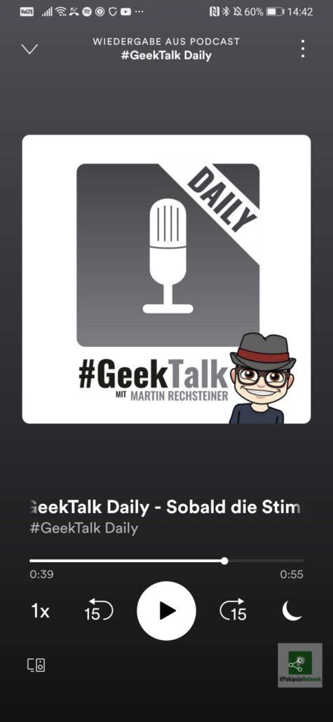 Spotify Podcast Episoden teilen