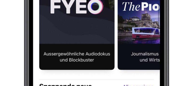 Apple Podcsats Abonnements