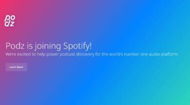 Spotify kauft Podz