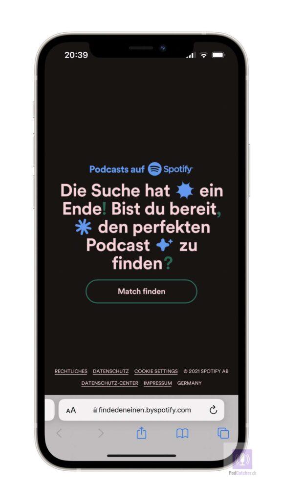 Das Spotify Quiz