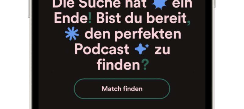 Spotify Finde den Einen Funktion